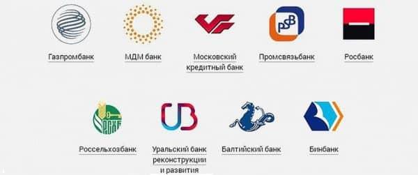 Банки-партнеры «Альфа-Банка» для снятия наличных без комиссии/процентных начислений