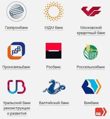 Подробный список банков-партнеров «Альфа-Банка»