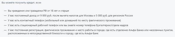 Кредитная карта «Альфа-Банка»: условия оформления, необходимые документы для получения