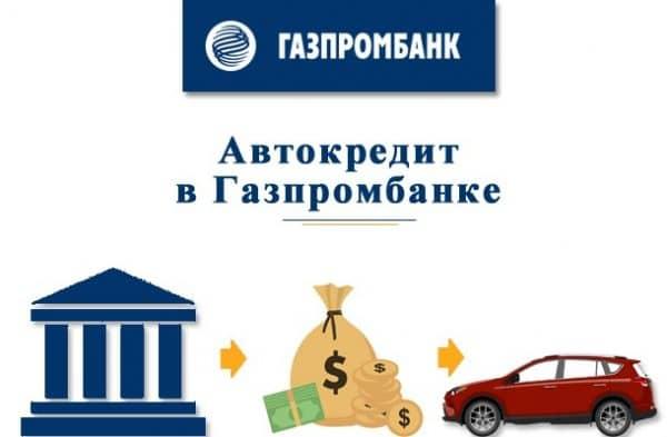 Преимущества автокредит от АО «Газпромбанк», калькулятор кредита 2018 г.