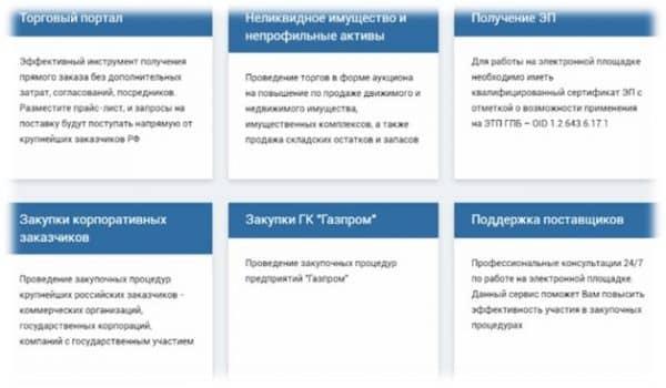 Газпромбанк тендерная площадка и ее особенности
