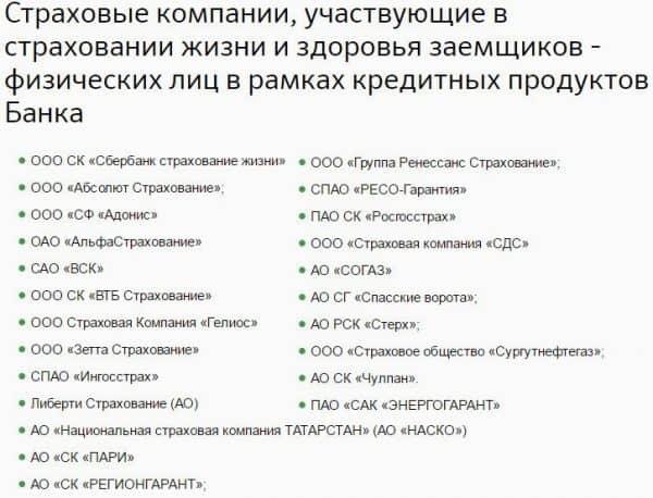 Где можно застраховать жизнь/здоровье при ипотеке «Сбербанка России»?