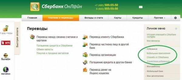 Аннулируются ли баллы-бонусы «Спасибо» от «Сбербанка России»? Проверка через internet-банкинг