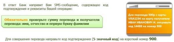 Как перевести по номеру телефона на карту «Сбербанка РФ» посредством sms-оповещения?