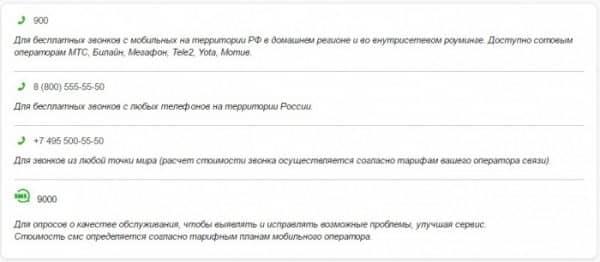 Как прикрепить номер телефона к карте «Сбербанка РФ» посредством телефонного звонка?
